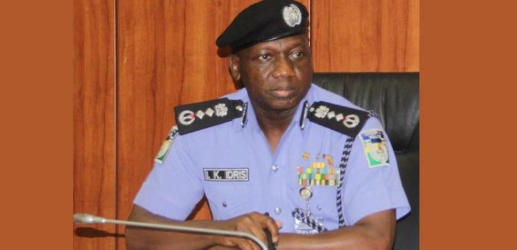 Image result for Tweet   Share  Pin it  +1 Police IG Ibrahim Kpotun Idris.