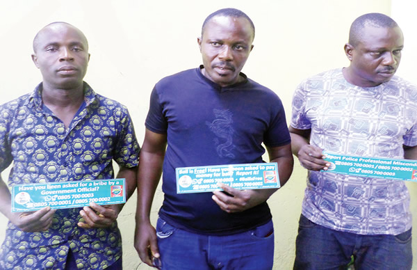 Image result for Three policemen dismissed for 'robbing' residents of N200,000