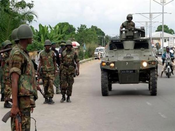 Image result for Ambush of oil workers: Corpses of 18 soldiers, 30 others arrive Maiduguri