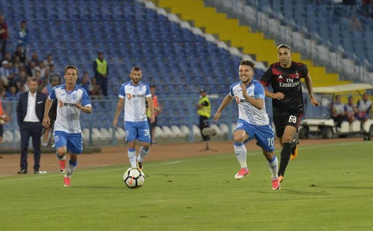 Steaua- Craiova 2-0/Băluță s-a supărat pe Mangia: A fost frustrant că am fost rezervă. Nu ştiu ce a încercat să îmi arate prin chestia asta