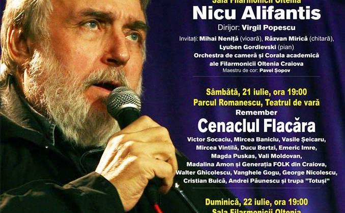 Festivalului InternaţionalAdrian Păunescu începe pe 20 iulie, zi în care poetul ar fi împlinit 75 de ani