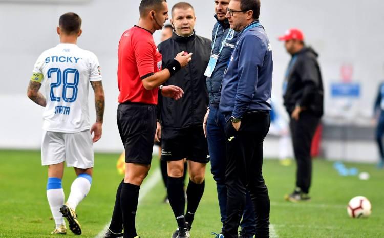 Craiova-Hermannstadt 1-1. Mangia: Nu sunt norocos cu acest arbitru. Sunt supărat pentru primele 10 minute. Am pierdut prea multe puncte în acest tur