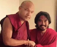 Karmapa-with-Mingyur-Rinpoche-11-13-2015-4-35-47-pm