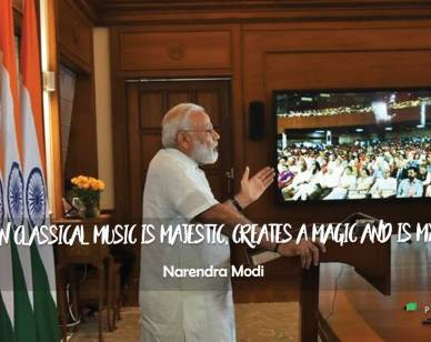 Inspirational Thoughts : Indian classical music...
