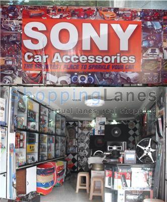 Sony Car AccessoriesShop No E1Mayfair EleganzaPhase 1
