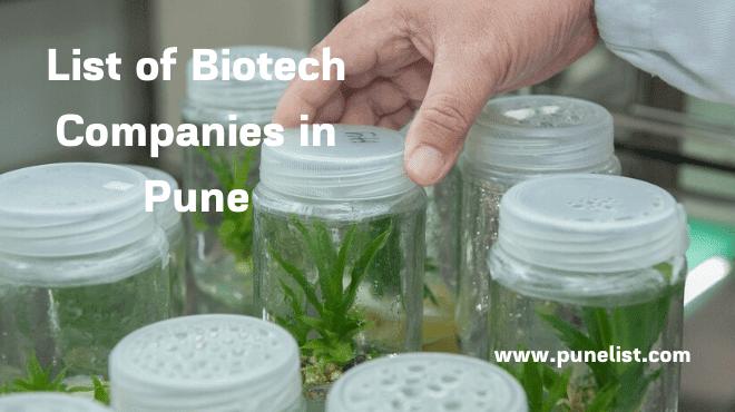 biotech-companies-in-pune