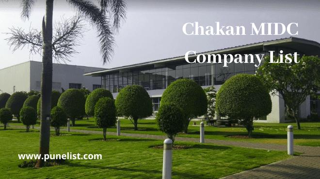chakan-MIDC-company-list