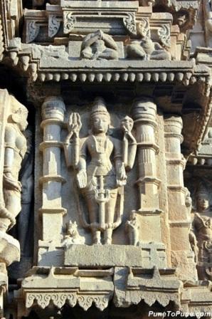 Lord Shiva with Nandi