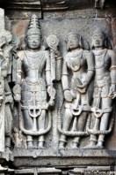 Couple offering to Lord Vishnu