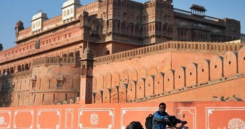 Bike ride to Junagarh Bikaner
