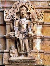 Lord Vishnu of Shamlaji