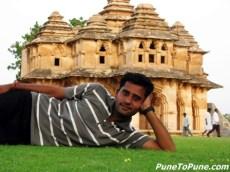 at Lotus Mahal