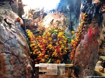 Lord Shiva cave at Baba Dhansar
