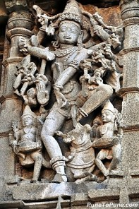 Shiva at Aundha Nagnath