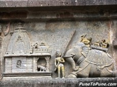 Part 1 of the mural about Peshwas