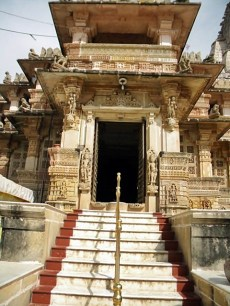 Shamlaji Temple Entrance
