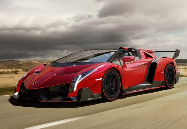 10 Top Luxury Cars Brands LAMBORGHINI VENENO ROADSTER