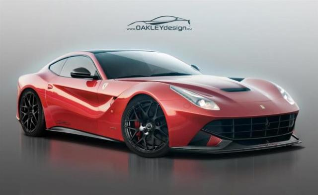 10 Top Luxury Car Brands FERRARI F12 BERLINETTA