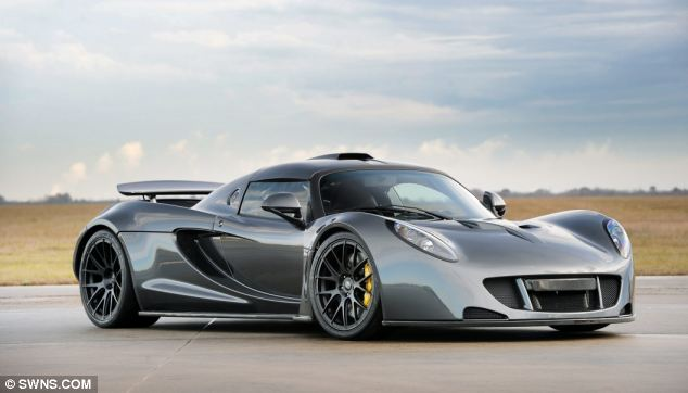 10 Top Luxury Car Brands HENNESSEY VENOM GT