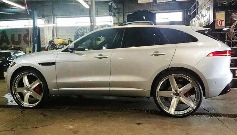 New 2016 Jaguar F-Pace