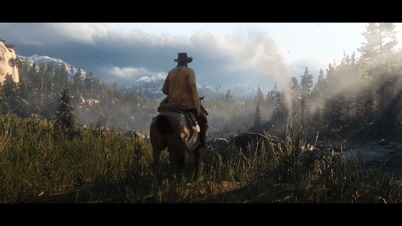 Red Dead Redemption 2 Story Trailer Released