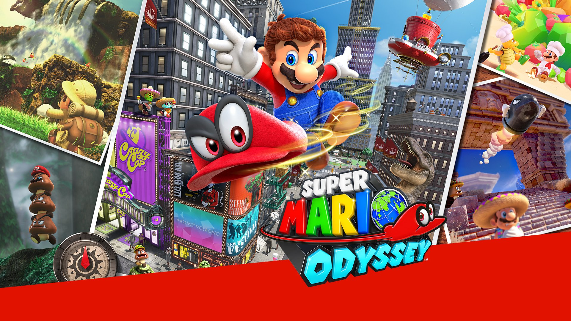Super Mario Odyssey Review The Punished Backlog