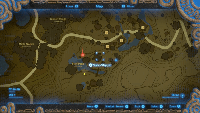 Granter of Boon Map