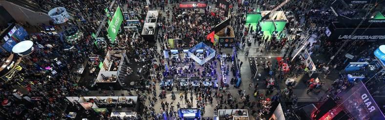 PAX East show floor