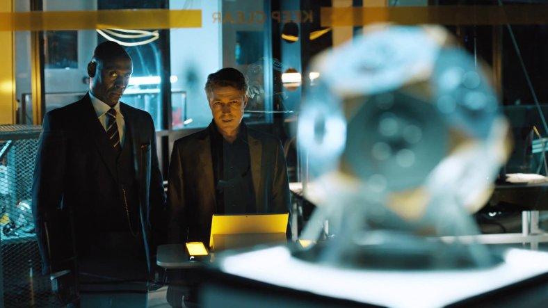 Quantum Break - Aiden Gillen and Lance Reddick