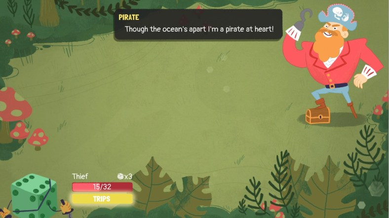 Dicey Dungeons pirate