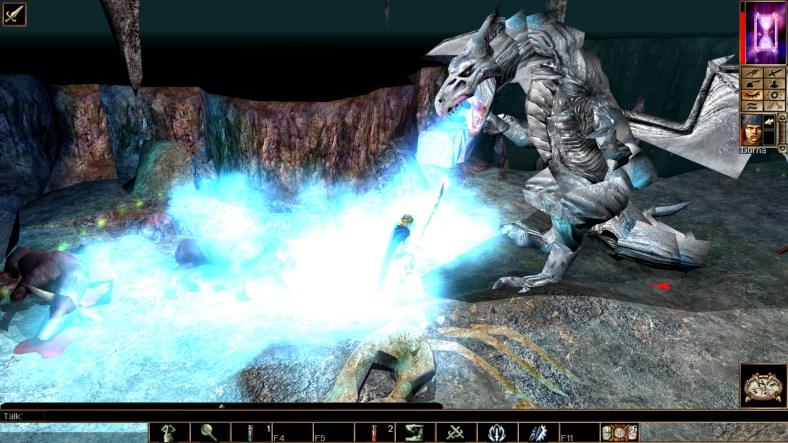 Neverwinter Nights: Enhanced Edition dragon battle