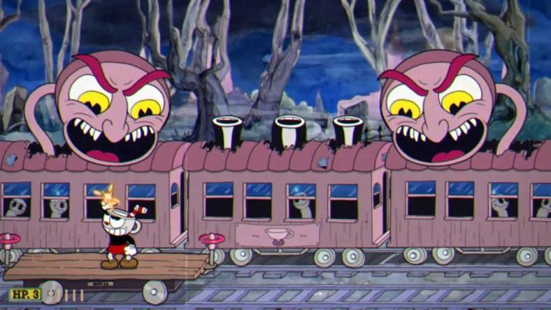 Cuphead Bosses Ranked - Phantom Express
