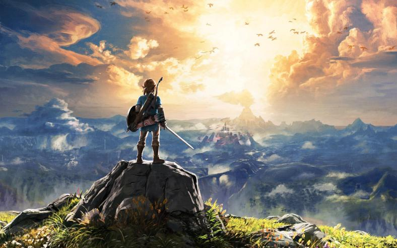 5 great video games for mental health - The Legend of Zelda: Breath of the Wild