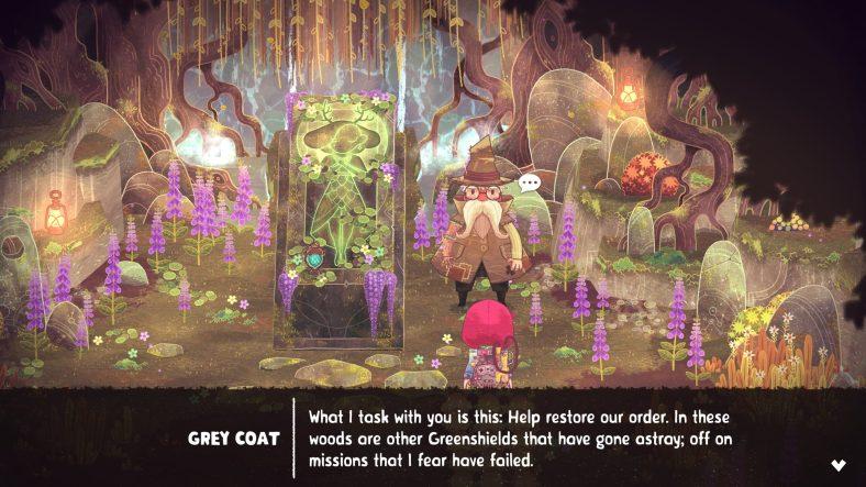 The Wild at Heart Grey Coat dialogue