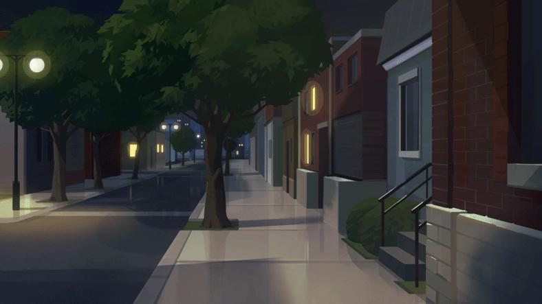 Boyfriend Dungeon street at night