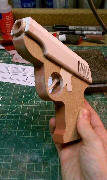TF2 Guns - Pistol Progress 1