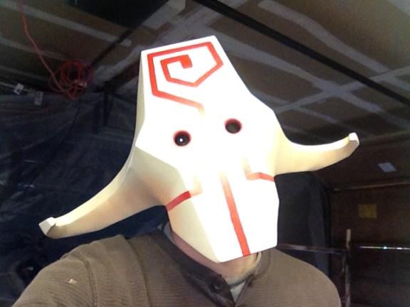 Juggernaut Mask - Painted
