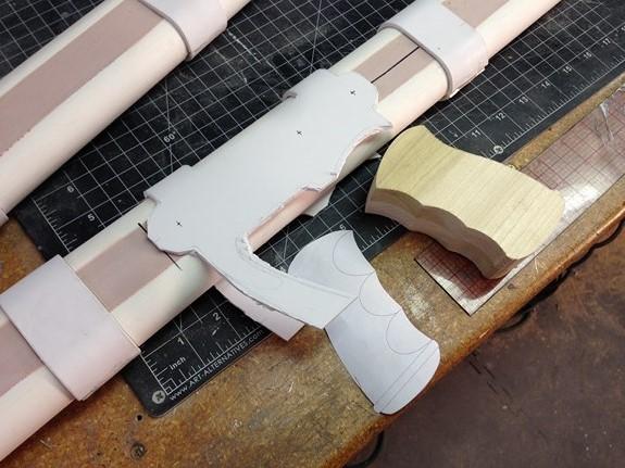 Nausicaa Gun Refined Bolt Assembly