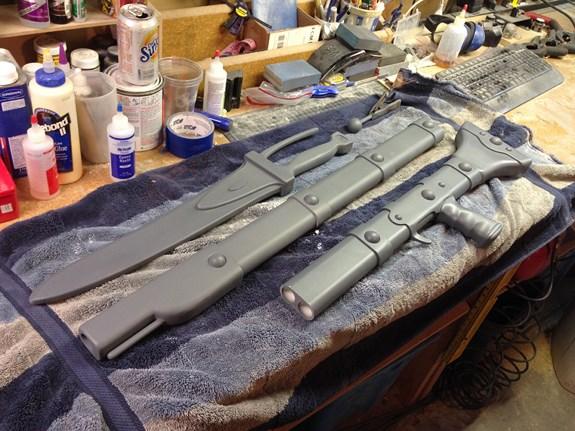 Nausicaa Gun Primed 2
