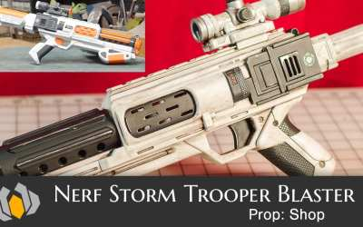 Prop: Shop – Nerf Stormtrooper Blaster Re-Paint