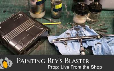 Prop: Live From The Shop – Painting Rey's Blaster