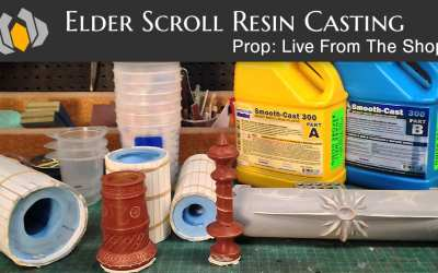Prop: Live From The Shop – Casting Elder Scroll Pieces