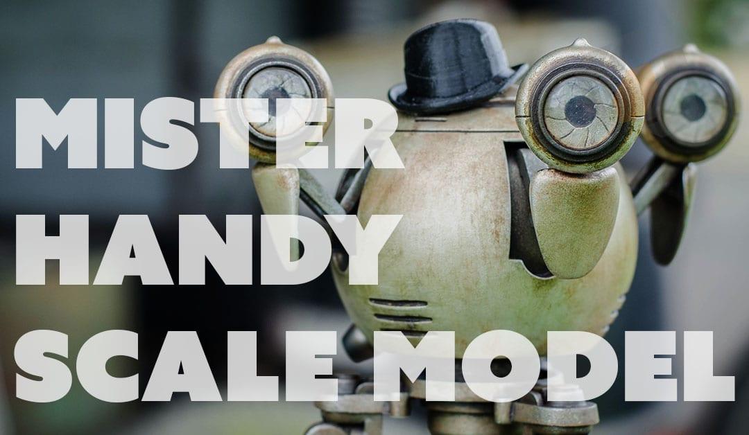Prop: Shop – Mister Handy Scale Model Build