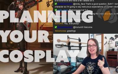 Prop: Live From The Shop – Planning a Cosplay