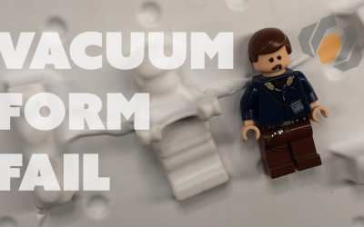 Prop: Live from the Shop – Vacuum Forming Fails & Experiments