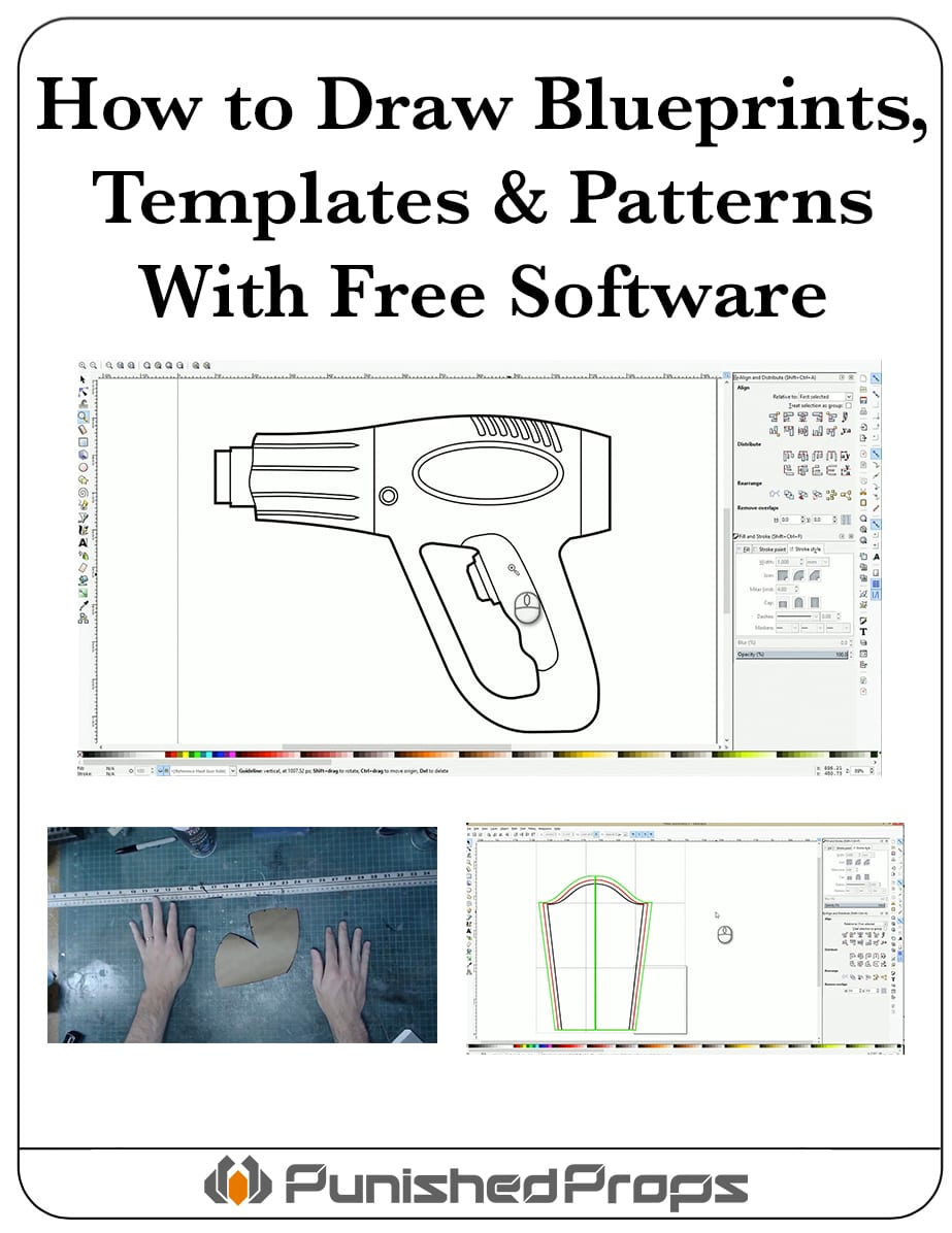 how to draw patterns templates blueprints with free software. Black Bedroom Furniture Sets. Home Design Ideas