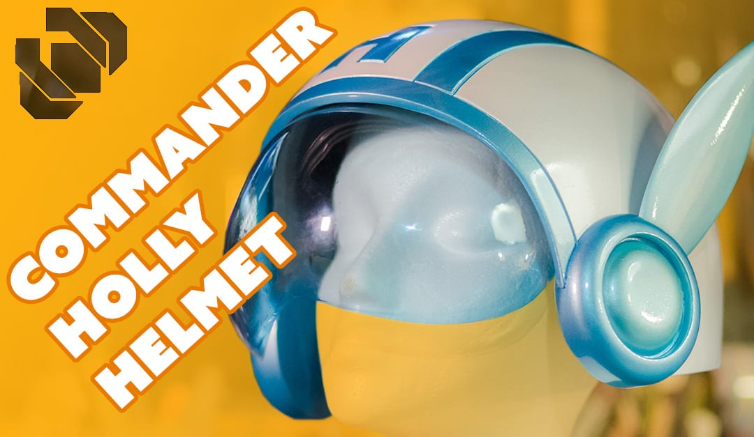 How to 3D Model and Print Commander Holly's Helmet – Prop: 3D