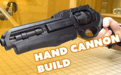 Destiny Hand Cannon Prop Build Andrew DFT Collaboration Part 1: Fabrication