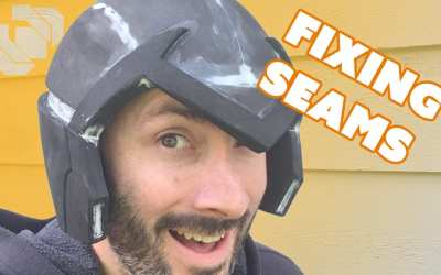 How to Fix and Fill Seams in Foam Props & Armor