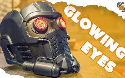 Adding Glowing Eyes – Star-Lord Helmet Kit Part 4